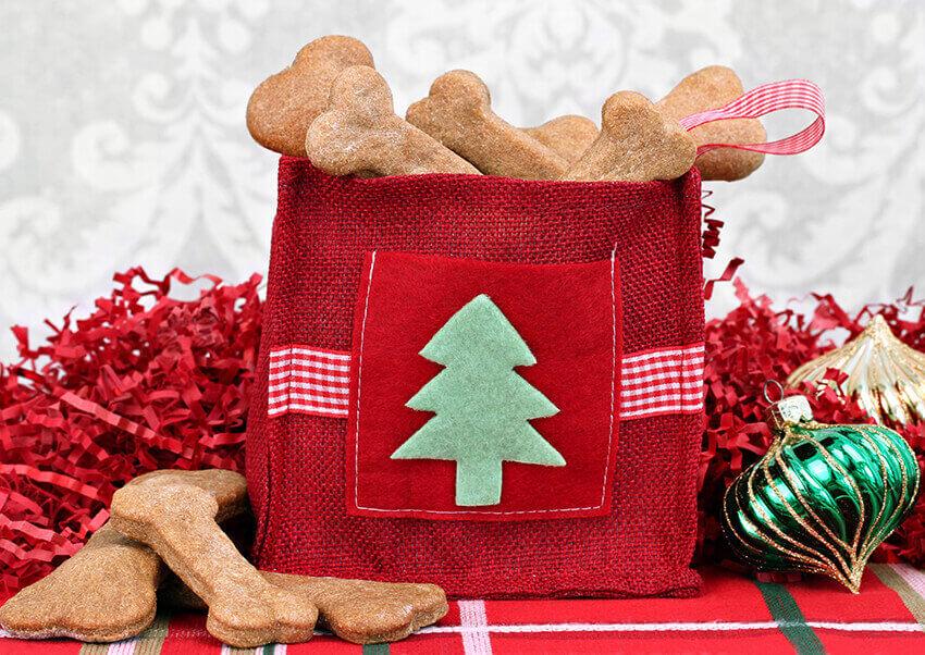 Hundekekse Weihnachten